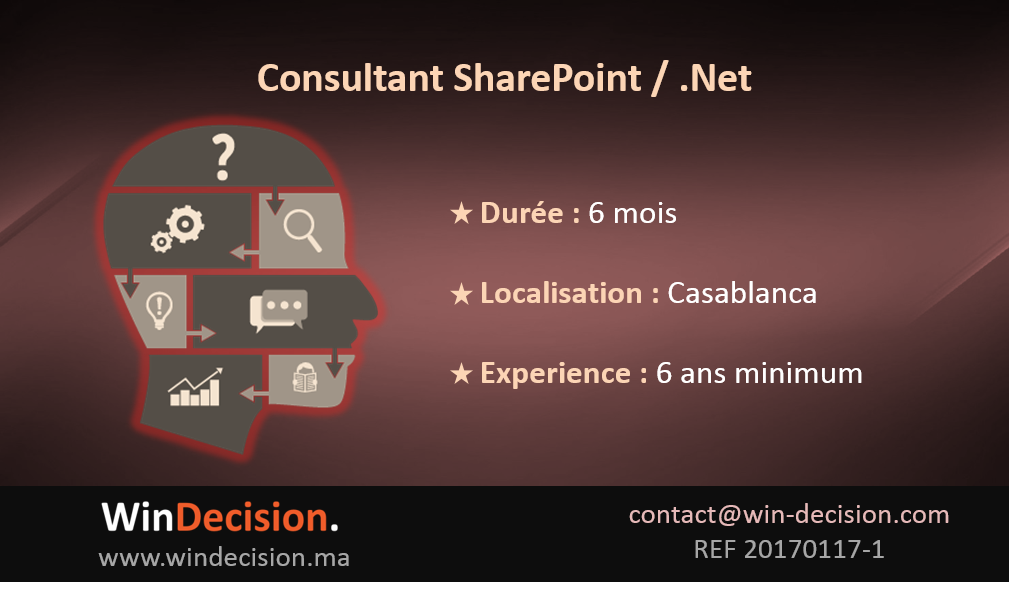 Consultant Sharepoint.Net